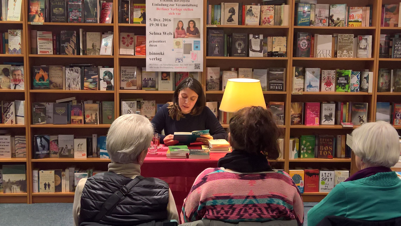 Berliner Verlage stellen sich vor: binooki-Verlag | Bücher am Nonnendamm